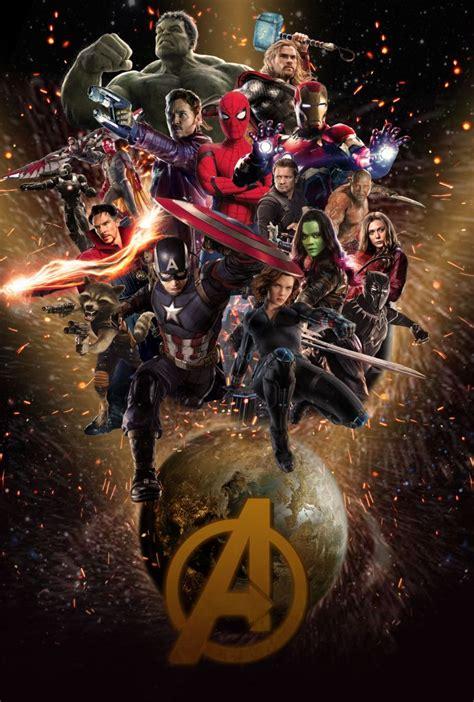 avengers endgame poster wallpaper