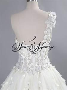 Robe De Mariée Originale : robe de mariee princesse originale bustir bretelle sur ~ Nature-et-papiers.com Idées de Décoration