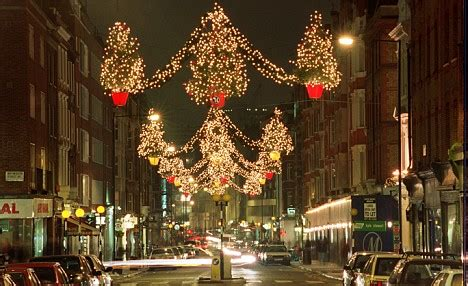 christmas no oxford dumps traditional themes in favour