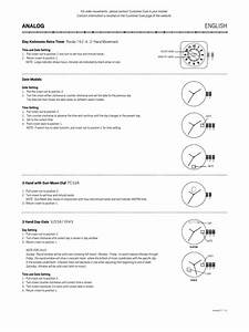 Fossil Watch Instructions Eng Uk