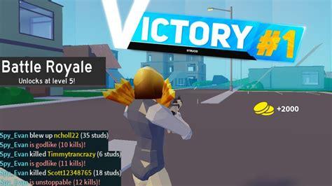 won  game  strucid battle royale youtube