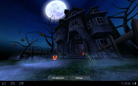 Animated Wallpaper Android Tutorial - free animated haunted house wallpaper wallpapersafari