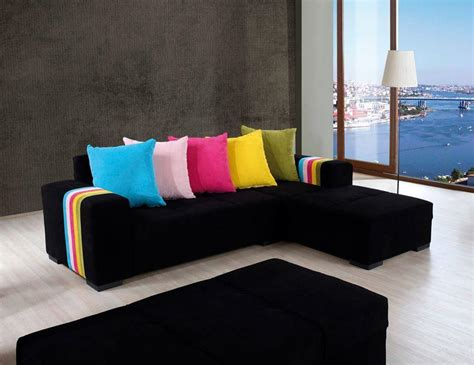 white sofa with colorful pillows colorful pillows with white sofa set