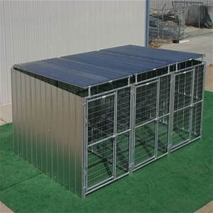 galvanized 3 run steel tube welded mesh dog cage double With where can i buy a dog kennel