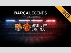 Barça legends to face Man United counterparts at Camp Nou
