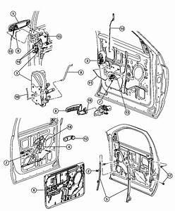 2004 Dodge Ram 1500 Handle  Window Regulator  Used For