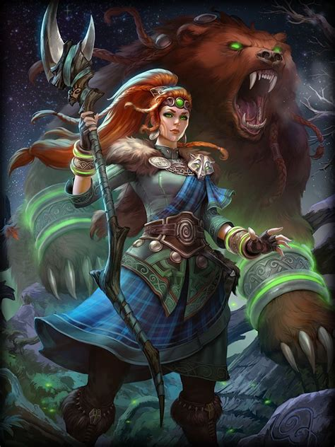 Smite Goddesses x Male!Reader - Artio - The Cycle of Life ...