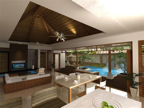 what style house do i beautiful balinese style house plans house style design