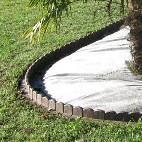 bordure courbe plastique marron h 20 x l 50 cm leroy merlin
