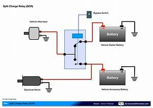 Wiring Diagram For Caravan Battery Charging