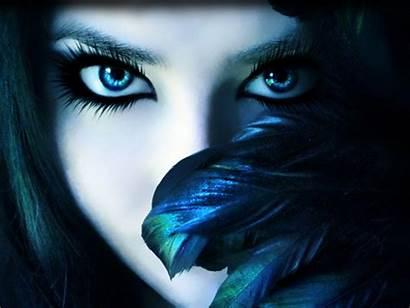 Eyes Eye Dark Makeup Wallpapers Desktop Shadow