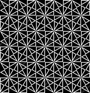 Vector modern seamless sacred geometry pattern polygon ...