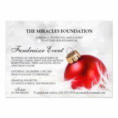 Holiday Fundraiser Flyer