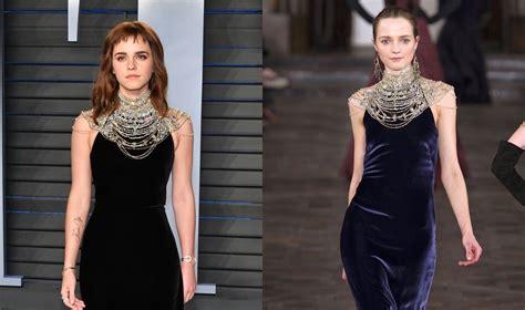 Emma Watson Wears Ralph Lauren The Vanity Fair