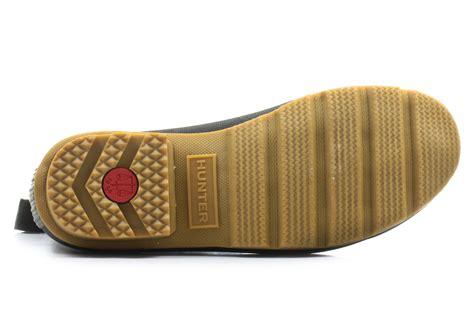 hunter boots mens original gum sole chelsea srgu blk  shop  sneakers shoes