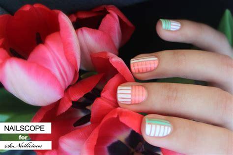 bright pastel nail art tutorial