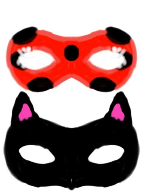miraculous ladybug  catnoir masks  yanalovebug