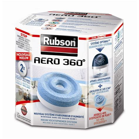 lot de 2 recharges tablette pour absorbeur d humidit 233 a 233 ro 360 176 rubson 20 m 178 leroy merlin