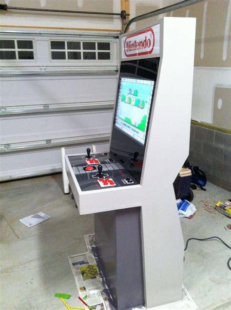 Nintendo Themed Arcade Cabinet Epically Retrofies Your