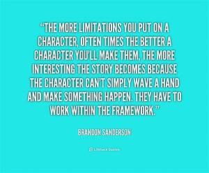 Brandon Sanders... Brandon Quotes