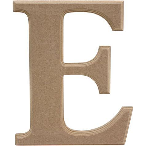 letter e wooden letter e 27 cm hobbycraft