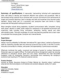 resume for first job no experience exle resumes with no work experience