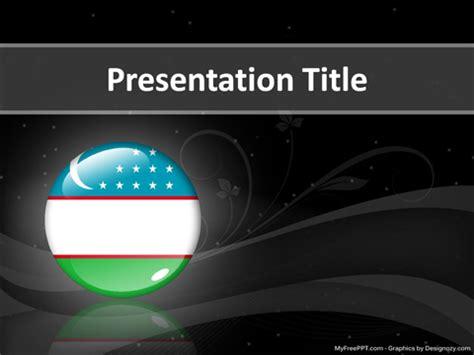 uzbekistan powerpoint template