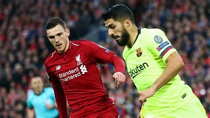 Robertson Liverpool Andrew Suarez Luis Player Barcelona
