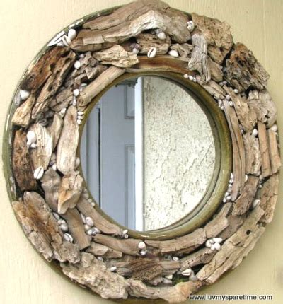 bathroom spa ideas simple driftwood diy mirrors frames coastal