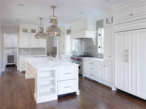 beaded inset cabinets transitional kitchen  kae