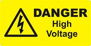 electrical labels danger stickers electrical warning With high voltage warning label requirements