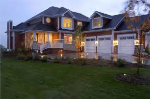 ranch style house plans with walkout basement shingle style house plans a home design with new