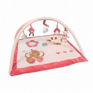 tapis d39eveil avec arches charlotte et rose de nattou chez With tapis chambre bébé avec bon plan livraison de fleurs