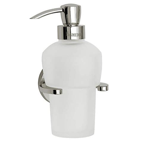 Smedbo Loft Wall Mounted Soap Dispenser And Holder