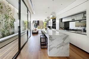 Plan De Travail Cuisine Marbre : le plan de travail en marbre ~ Melissatoandfro.com Idées de Décoration