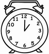 Clock Coloring Drawing Alarm Pages Grandpa Sheets Line Children Clocks Drawings Place Getcolorings Getdrawings Digital Sheet Paper Utilising Button Coloringsky sketch template
