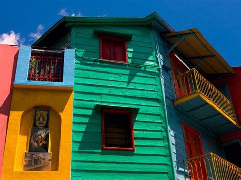 Les Maisons Colorées De La Boca
