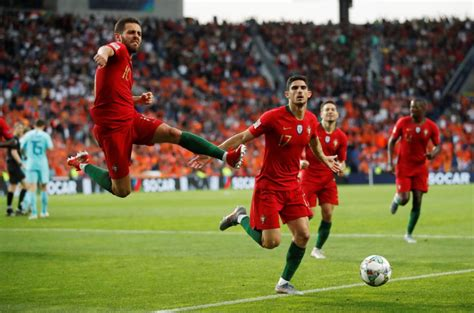Portugal beat Dutch to win inaugural Nations League title ...