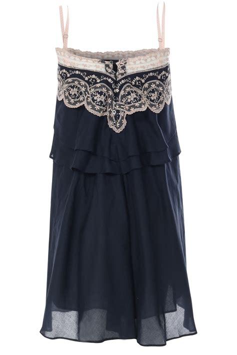top kleid dunkelblau spitze fuer  abendkleid