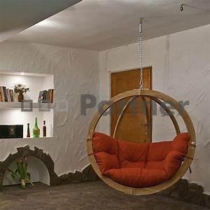 Závěsné houpací křeslo do bytu