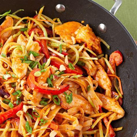 Then addb garlic, salt & pepper mix, soy sauce, worcestershire sauce and sesame oil. Chicken-Peanut Stir-Fry   Recipe   Diabetic chicken recipes, Stir fry, Slaw recipes