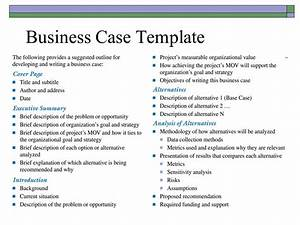 Business case template free business template for Business card showcase template