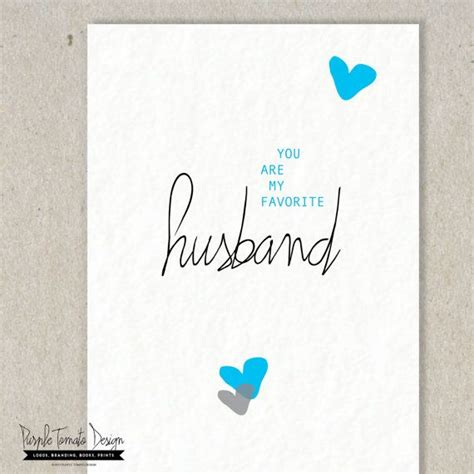 birthday card template husband instant you are my favorite husband by