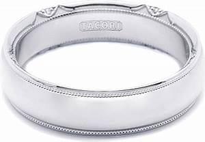 Tacori Mens Wedding Band 60mm 6161