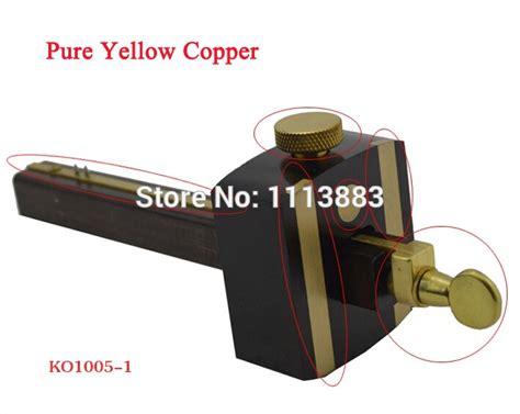 inchcm ebony deluxe british marking gauge wood scribe