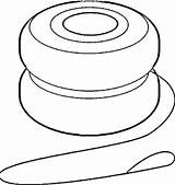 Yoyo Clipart Yo Coloring Clip Animated Cliparts Line Ball Library Clipartmag Clipartbest sketch template