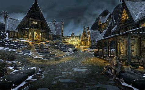Concept Art The Elder Scrolls Skyrim