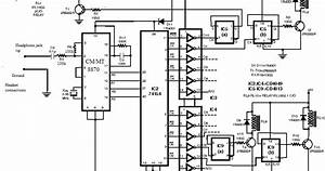 Cell Phone Controlled Home Appliance Circuit