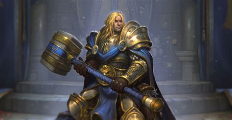 Paladin Deck To Beat Lich King by Knights Of The Frozen Throne Guide Release Date Card