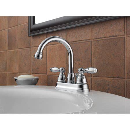 peerless  handle lavatory faucet  pop  drain